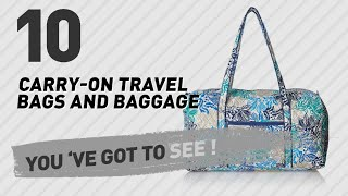 Vera Bradley Carry-On Luggage    New   Popular ... 32adee97d84eb