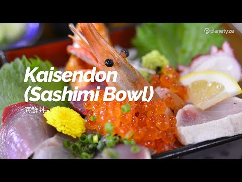 Kaisendon (Sashimi Bowl) | Japan Travel Guide