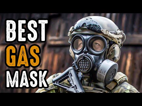 5 Best Military-Grade Gas Mask For Tactical \u0026 Survival