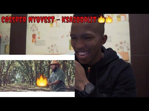 Cassper Nyovest - Ksazobalit (Official Music Video) REACTION 🔥🔥🔥