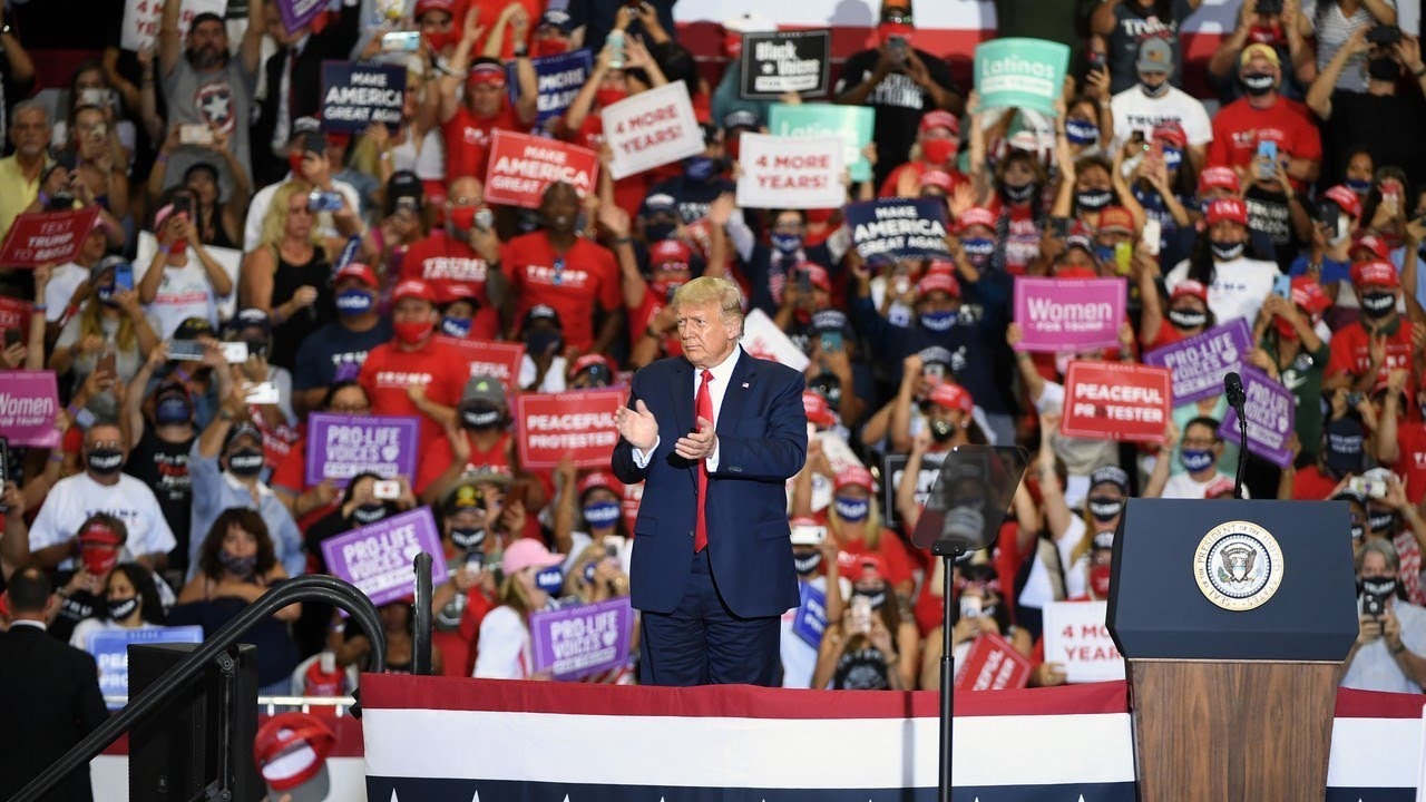 Trump announces plan to hold rally in Florida on Saturday