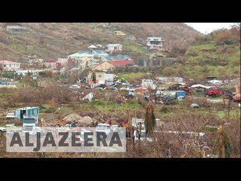 Hurricane Jose spares Saint Martin Island