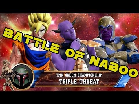 TMN Green PPV: Battle of Naboo [WWE2k17] - Feb 12th, 2017