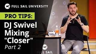 """Jordan """"DJ Swivel"""" Young Explains the Vocal Track for The Chainsmokers """"Closer"""" 