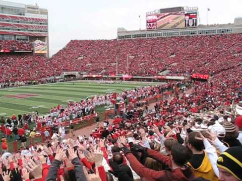 There Is No Place Like Nebraska Touchdown Version