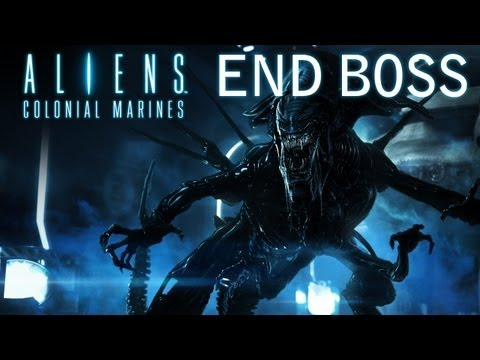 Aliens: Colonial Marines - Walkthrough - Final Mission - Home  - [END BOSS] (PS3/X360/PC) [HD]