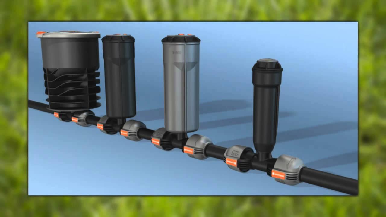 gardena sprinklersystem training film 25 32mm youtube. Black Bedroom Furniture Sets. Home Design Ideas