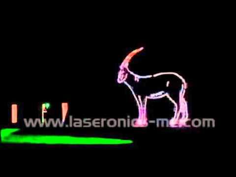 Laser Show Saudi Arab