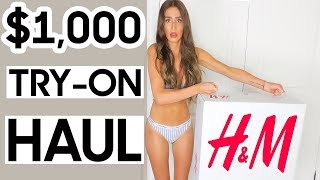I spent $1000 at H&M | Fall Autumn Haul & Try-On