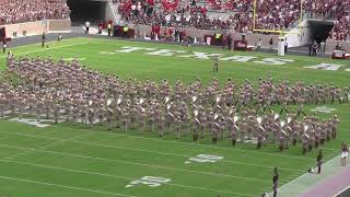 Fightin' Texas Aggie Band Halftime Drill - ULaLa Game at Kyle Field - Sept 16, 2017