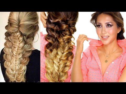 ★-easy-topsy-braid-hairstyle- -everyday-hairstyles- -prom-&-school-hair