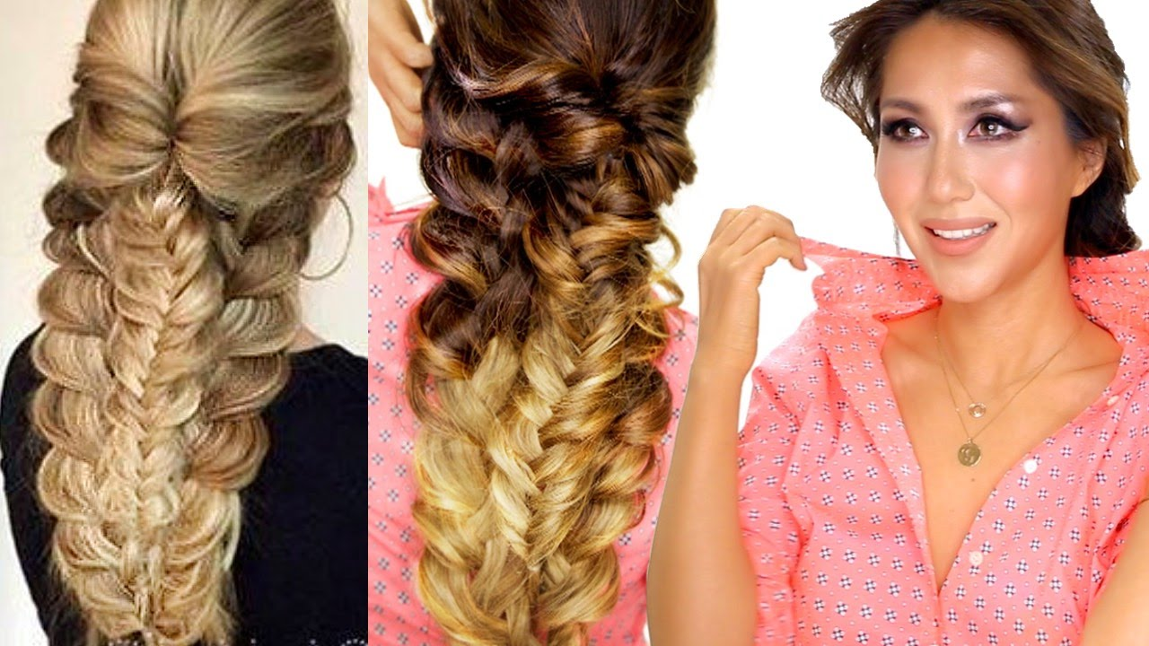 ★ easy topsy braid hairstyle | everyday hairstyles | prom & school hair