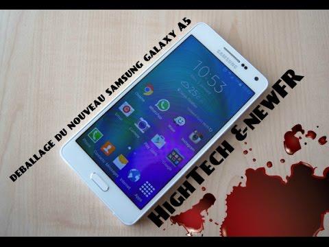 [DEBALLAGE] du smartphone samsung galaxy A5