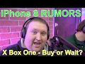 iPhone 8 Rumors & Should I Buy a Xbox One S or PS4 or Wait - Man Cave Tech Show Episode 002