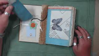 Junk Journal Featured in #GreenCraft Magazine, now for sale in my Etsy shop   again