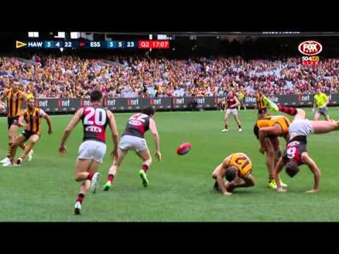 James Frawley shoulder dislocation  AFL