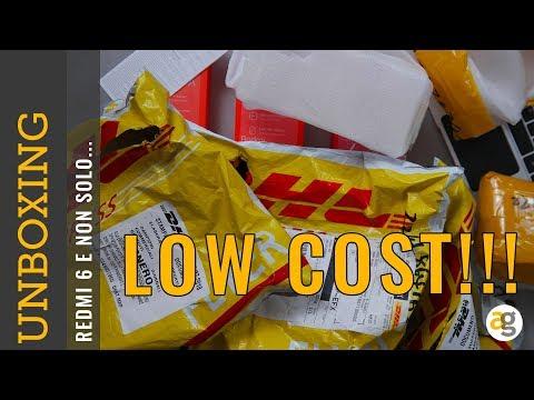 Unboxing LOW COST e DORMIRO' BENISSIMO?!?!?!