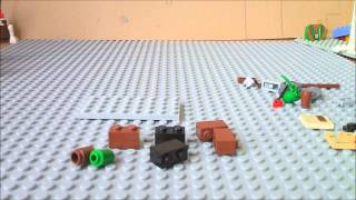 Lego Tutorial Part 1: A Desk