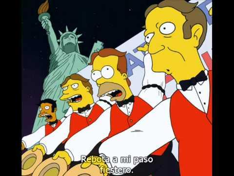 Baby on board (Bebé a bordo) - Los Simpson subtitulado.