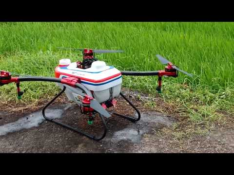 Agriculture Drone / Plant Protection Drone Sprays In Thailand