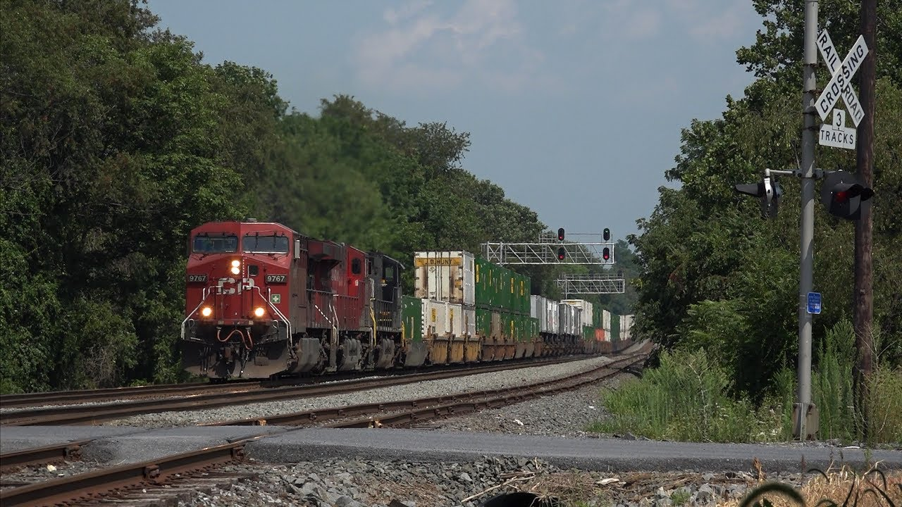 Trains On The Norfolk Southern Harrisburg Line Late Summer 2016