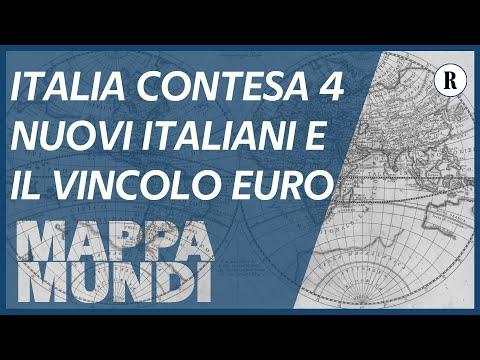 Italia contesa /4, i nuovi italiani e i vincoli esterni con Europa e Usa - Mappa Mundi