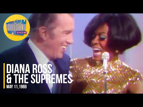 """Diana Ross & The Supremes """"You're Nobody Till Somebody Loves You"""" on The Ed Sullivan Show"""