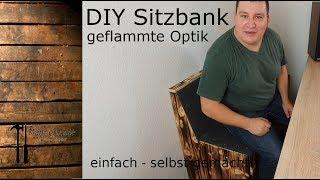 Männerhöhle #2 - Theke/Bar Teil 4 - Sitzbank DIY