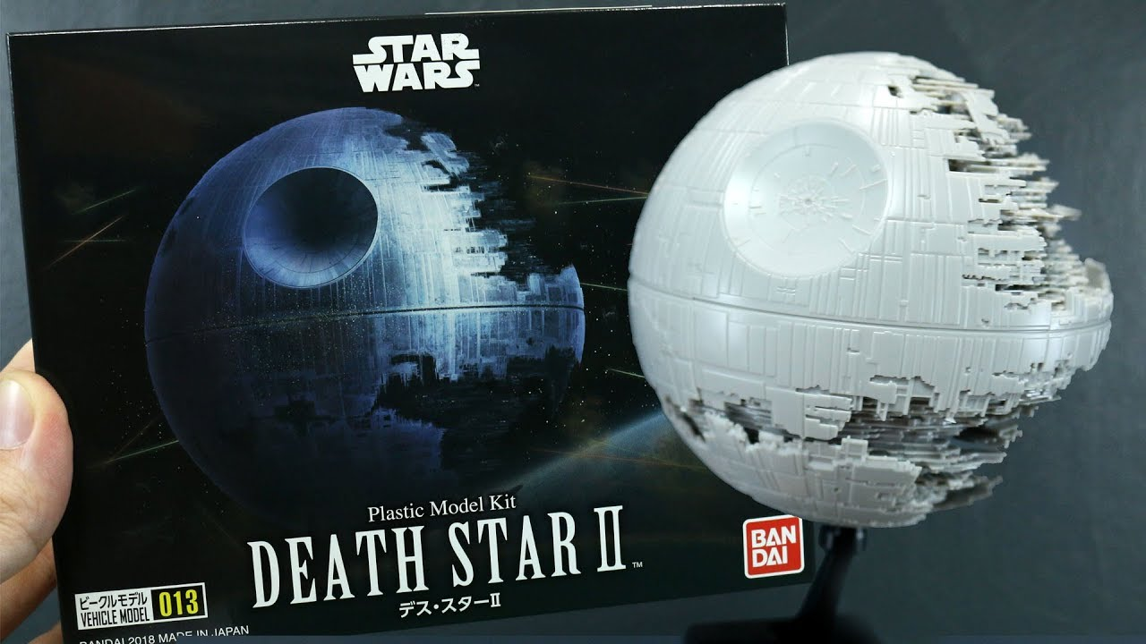 1689 - Star Wars Vehicle Model 013 Death Star II UNBOXING and Review