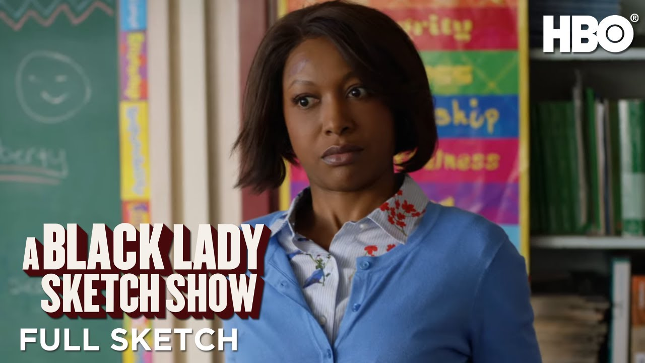 A Black Lady Sketch Show: Cool Handshake Teacher Needs A Win (Full Sketch) | HBO