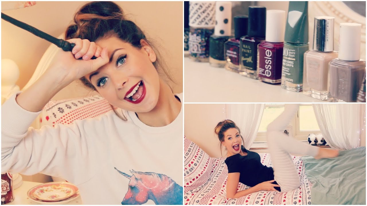 My Autumn and Winter Essentials | Zoella - YouTube