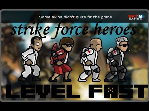Strike force heroes level up fast youtube