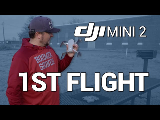DJI Mini 2 / FIRST FLIGHT!