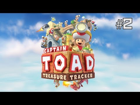 Twitch Livestream | Captain Toad: Treasure Tracker Part 2 [Switch]