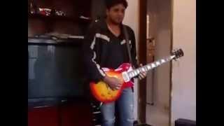 Como fazer uma guitarra chorar Welberth!