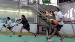 Off Ice Training Goalie Dusan Sidor