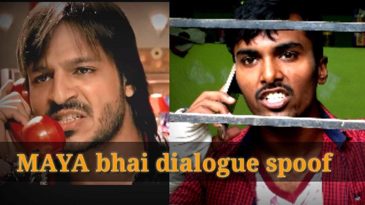MAYA BHAI DIALOGUE | SHOOTOUT AT LOKHANDWALA MOVIE SPOOF ...