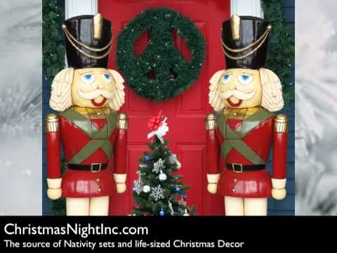 giant nutcrackers toy soldiers from christmas night inc