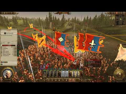 Beastman ambush of Brettonian nobles Warhammer 2 with the Dutch Navy