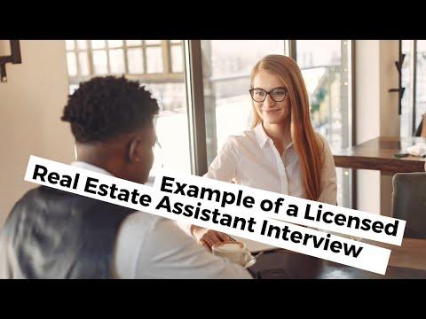 Megan - Licensed Real Estate Assistant (sample Interview)