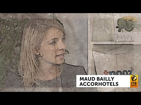 AccorHotels' Chief Digital Officer Maud Bailly: tnoozLIVE@ITB 2018