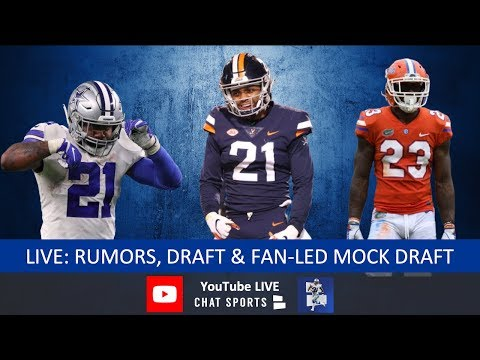 Dallas Cowboys Rumors, News, Ezekiel Elliott Contract, 2019 NFL Draft, Trades & Fan-Led Mock Draft