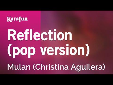 Karaoke Reflection - Mulan *