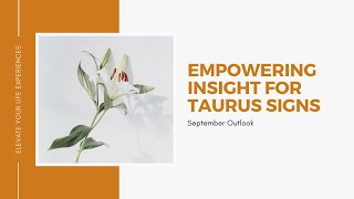 Empowerment Insight|Taurus Signs|Wade Through The Water to Peace