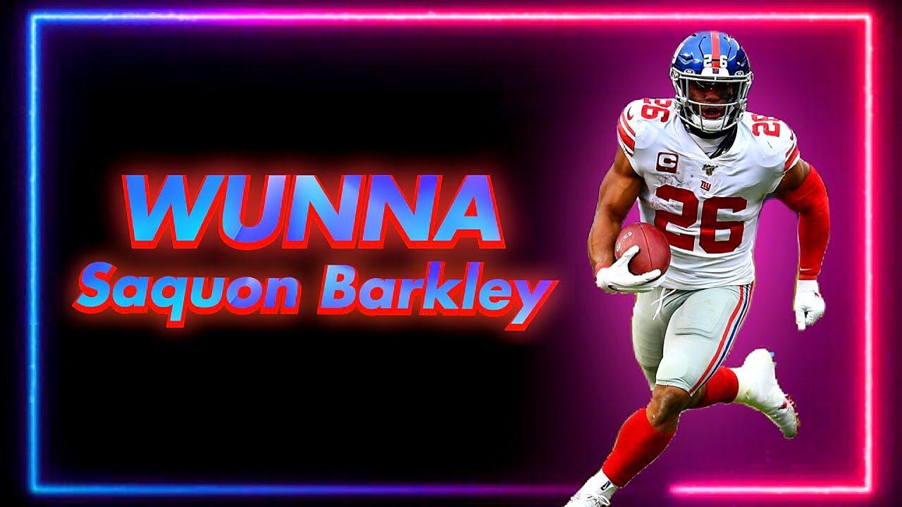 """Saquon Barkley    """"WUNNA"""" ~ Gunna    NFL Mix"""