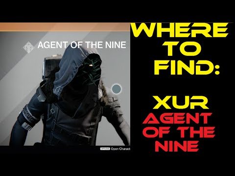 Destiny - Where to find Xur: Agent of the Nine - 10/3-10/5