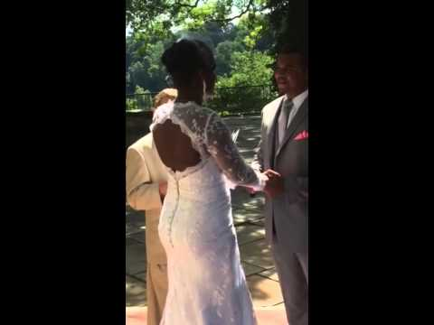 Jerome and Chadria Armstrong wedding 2015