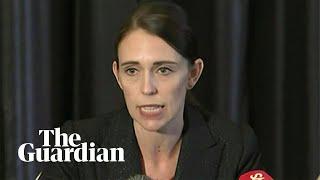 Jacinda Ardern condemns Christchurch mosque shootings