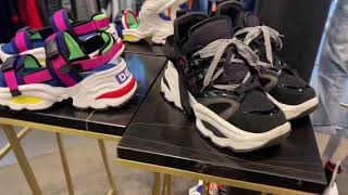 Dsquared2 Giant Sneakers NYC spring