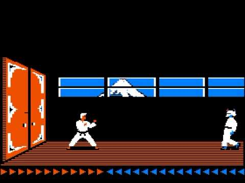 old computer karate game